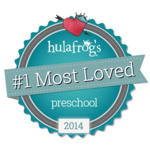Hulafrogs _1 Most Loved Badge-Facebook-404-Preschool
